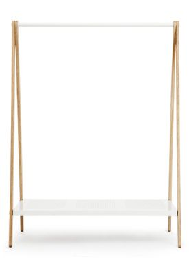 Normann Copenhagen - Clothes Rack - Toj Clothes Rack - Large - White