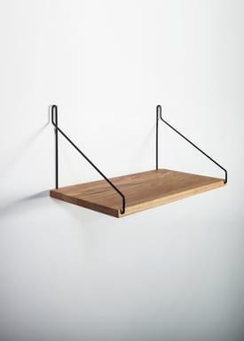 FRAMA - Hylde - Oak Shelf - 40 cm.  - Eg/Sort