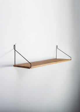 FRAMA - Hylde - Oak Shelf - 60 cm.  - Eg/Sort