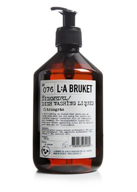L:A Bruket - Opvaskemiddel - Opvaskemiddel - No. 76 Dishwashing Soap - Klar