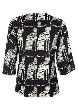 Paul & Joe Sister - Blouse - Juliano - Black w. Print