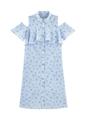 Paul & Joe Sister - Kjole - Arlesia - Light Blue w. Pattern