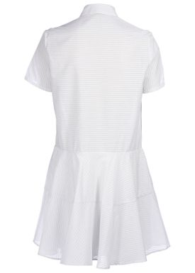 Paul & Joe Sister - Kjole - Claudine - White/Light Blue Stripe