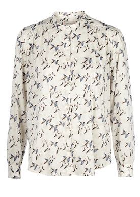 Paul & Joe Sister - Skjorte - Aria Birds - Offwhite/Print