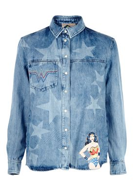 Paul & Joe Sister - Skjorte - Drussila Wonder Woman - Denim