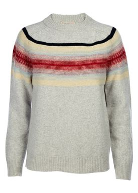 Paul & Joe Sister - Strik - Bonbon Jumper - Light Grey/Multicolor