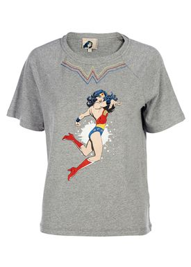 Paul & Joe Sister - T-shirt - Zeus Wonder Woman - Grå