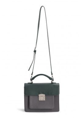 Paul & Joe Sister - Bag - Idylle Stachel Bag - Anthracite/Dark Green