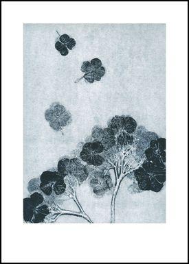 Pernille Folcarelli - Poster - Paper Prints Nature - hortensia ink print