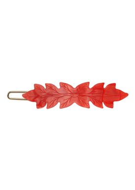 Plissé Copenhagen - Hair Clip - Josephine - Small - Red