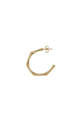 Plissé Copenhagen - Earrings - Bamboo Earring - Gold