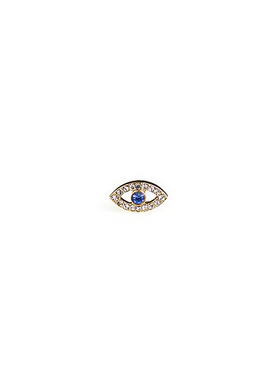 Plissé Copenhagen - Earrings - Eye Topaz Earring - Gold