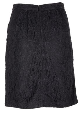 Lace Skirt Nederdel Sort