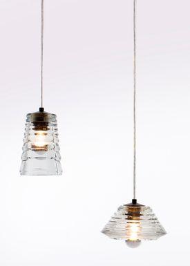 Tom Dixon - Lampe - Pressed Tube Bowl - Glas
