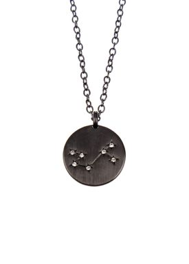 Pure By Nat - Necklace - Zodiac chain - Oxidised Scorpion 24.10-22.11