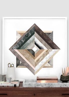 Kristina Krogh - Poster - Refective Mirrors - Print