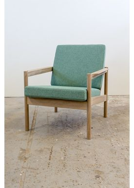 Risskov Møbelsnedkeri - Lounge Chair - KK 161 Chair - Oak with Tonica 2 fabric