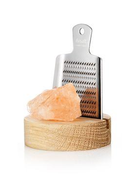 Rivsalt -  - Rivsalt - Grated Salt - Rivejern med rivsalt  -  Himalaya
