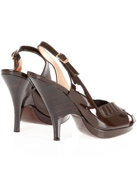 T80031 Stilettos Dark Brown