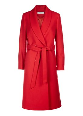 Rodebjer - Coat - Neil Wool - Red Fire