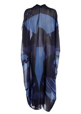 Rodebjer - Kjole - Agave Geometric Caftan - Blue Print