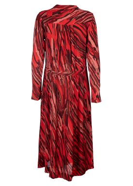 Rodebjer - Kjole - Jaelle Flow Dress - Red Fire