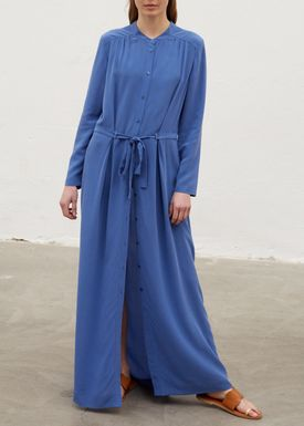 Rodebjer - Dress - Jaya Dress - Faded Indigo