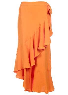 Rodebjer - Skirt - Hazel Twill - Marigold (Orange)