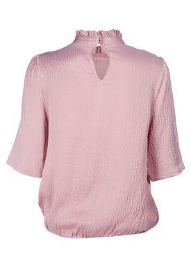 Rodebjer - Top - Marble Silk Top - Petal Pink