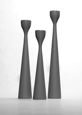 Freemover - Candlestick - Rolf Candleholder - Anthracte Grey