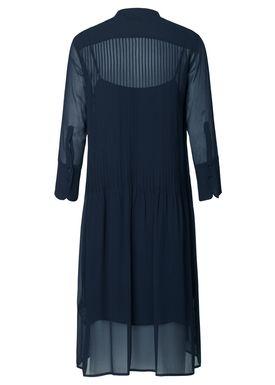 Samsøe & Samsøe - Kjole - Elm Shirt Dress One - Dark Sapphire