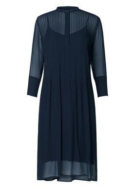 Samsøe & Samsøe - Dress - Elm Shirt Dress One - Dark Sapphire