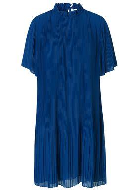 Samsøe & Samsøe - Klänning - Malie ss dress - Blue Depths