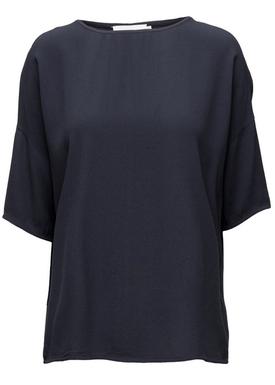 Samsøe & Samsøe - T-shirt - Mains Tee - Total Eclipse