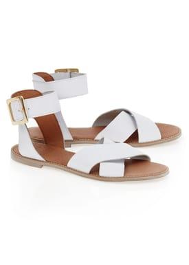 Sandal/Two Sandaler Hvid