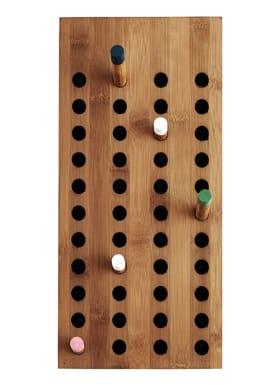 WeDoWood - Knage - Scoreboard Small - Bambus