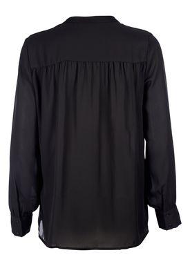 Second Female - Skjorte - Damina LS Shirt - Sort