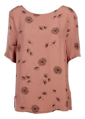 Selected Femme - Bluse - Dandelion Top - Støvet Pink