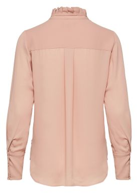 Selected Femme - Bluse - Lexie - Cafe Creme(Nude)