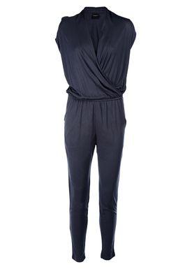 Selected Femme - Buksedragt - Silla SS Jumpsuit - Mørk Navy