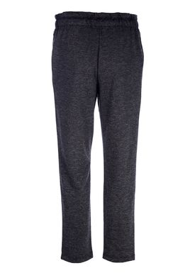 Selected Femme - Byxor - Elma MW Pant - Dark Grey Melange