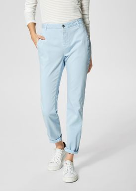 Selected Femme - Pants - Ingrid Tapered Chinos - Skyway Light Blue