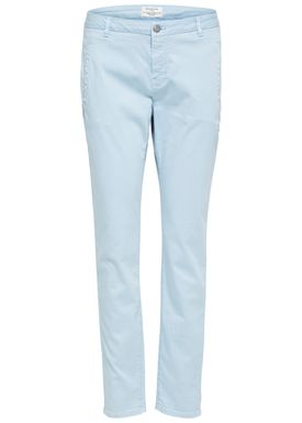 Selected Femme - Bukser - Ingrid Tapered Chinos - Skyway Light Blue