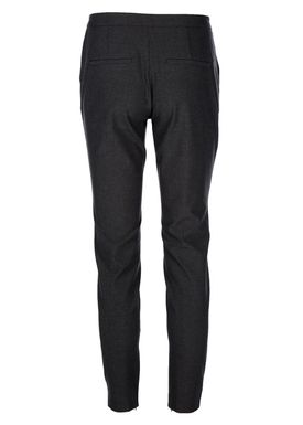 Selected Femme - Bukser - Muse Cropped Pants - Dark Grey Melange
