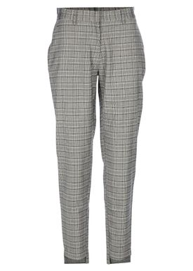 Selected Femme - Bukser - Nana Checked Pants - Birch Checks