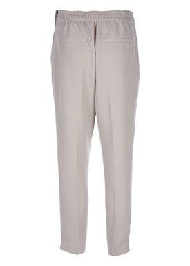 Selected Femme - Pants - Steffi Cropped Pants - Light Grey