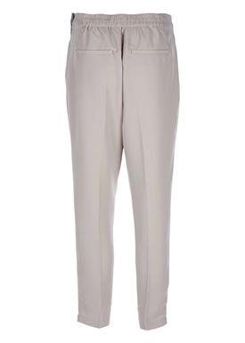 Selected Femme - Bukser - Steffi Cropped Pants - Lysegrå