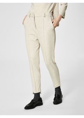 Selected Femme - Bukser - Sue Sweat Pants - Sand Melange