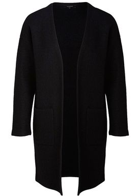 Selected Femme - Cardigan - Darla LS Knit Cardigan - Black
