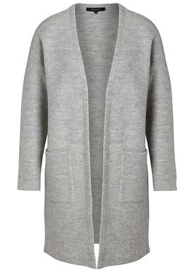 Selected Femme - Cardigan - Darla LS Knit Cardigan - Light Grey